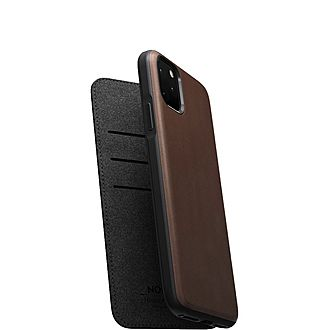 Rugged Leather iPhone 11 6.5 Folio