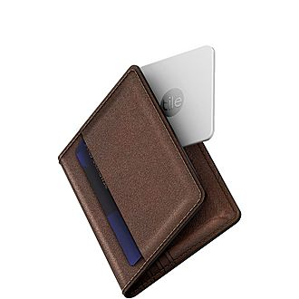 Slim Leather Tile Cardholder
