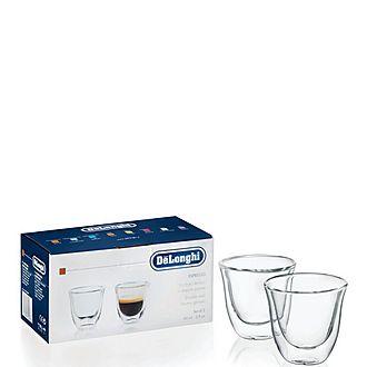 Set of 2 Espresso Thermo Glasses