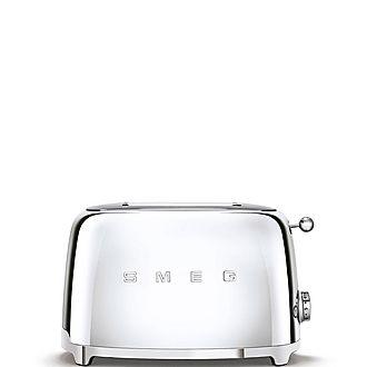 50'S Retro Style Aesthetic 2 Slice Toaster