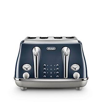4-Slice Icona Capitals Toaster