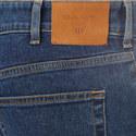 Straight Leg Stretch-Cotton Jeans, ${color}