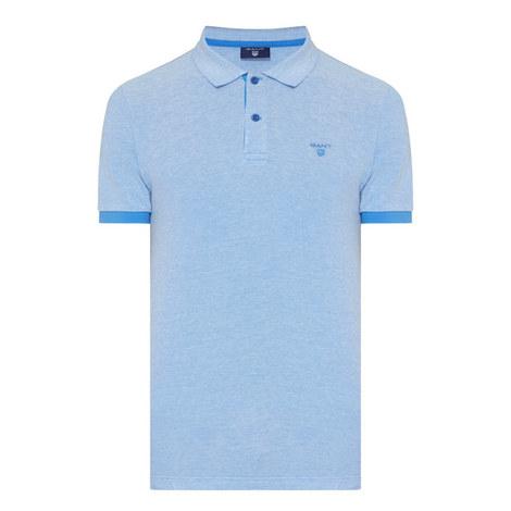 Oxford Piqué Polo Shirt, ${color}