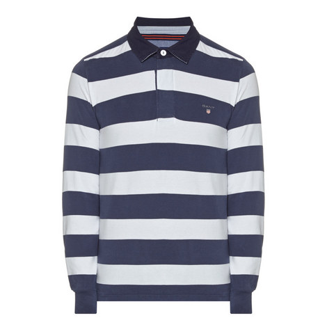 Block Stripe Rugby Shirt, ${color}