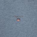 Half-Zip Piqué Cotton Sweater, ${color}