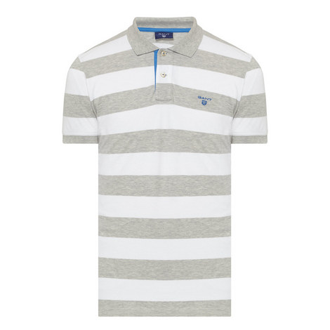 Bar Stripe Polo Shirt, ${color}