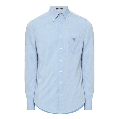 Chambray Cotton Shirt, ${color}