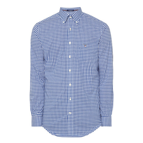 Check Cotton Shirt, ${color}