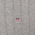 Cable Knit Cotton Sweater, ${color}