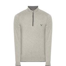 Half-Zip Knitted Sweater