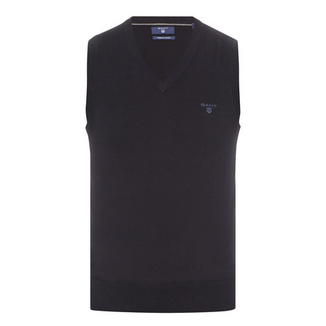 V-Neck Sweater Vest, ${color}