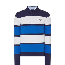 Mirror Stripe Rugby Shirt