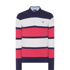 Mirror Stripe Rugby Shirt