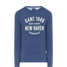 New Haven Crew Neck Sweatshirt
