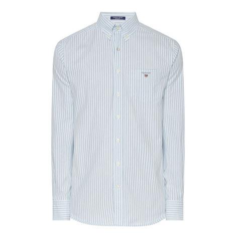Two Tone Stripe Oxford Shirt, ${color}