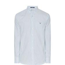 Two Tone Stripe Oxford Shirt
