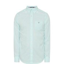 Poplin Banker Striped Shirt