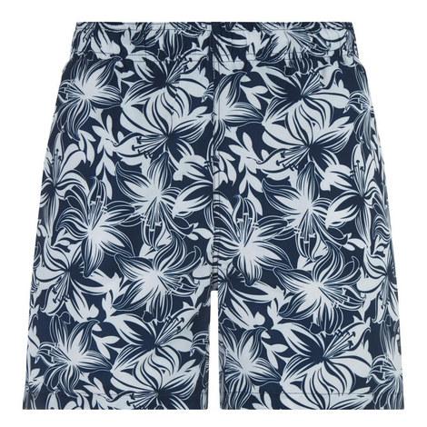 Lily Hibiscus Print Swim Shorts, ${color}