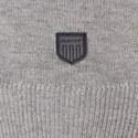 Textured Crew Neck Sweater, ${color}