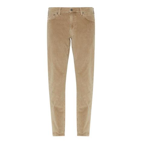 Regular Fit Corduroy Trousers, ${color}