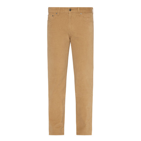 Straight-Fit Twill Chinos, ${color}