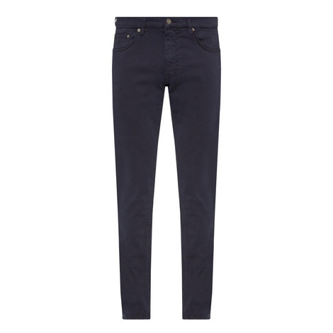 Slim Fit Twill Chinos, ${color}