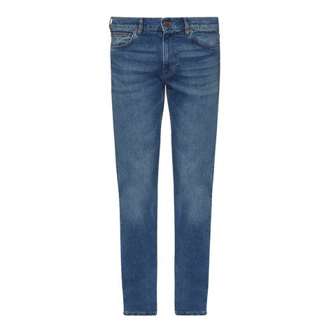 Regular Fit Straight Leg Jeans, ${color}