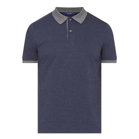 Jacquard Polo Shirt, ${color}