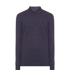 Long Sleeve Piqué Polo Shirt