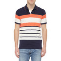 Stripe Piqué Polo Shirt, ${color}