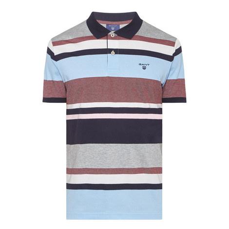 Multi Stripe Polo Shirt, ${color}