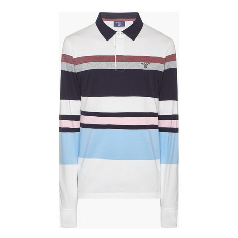 Multi Stripe Rugby Shirt, ${color}