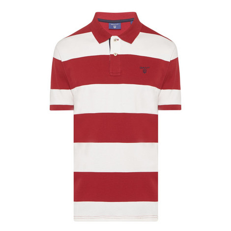 Bar Stripe Polo Shirt, ${color}