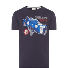 Le Mans Car Print T-Shirt