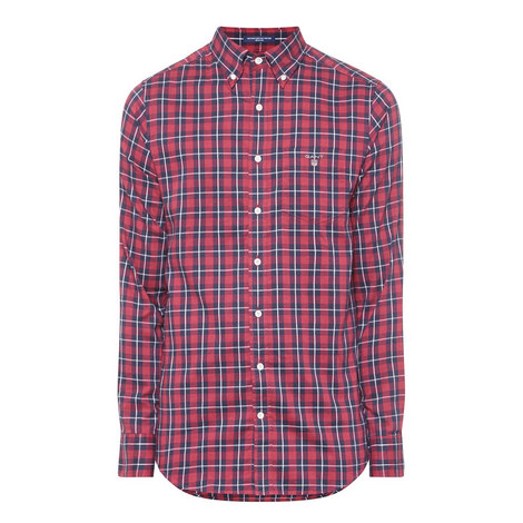 Heather Oxford Check Shirt , ${color}