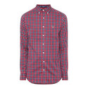 Heather Oxford Check Shirt, ${color}
