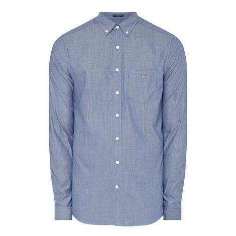 Pinstripe Oxford Shirt, ${color}