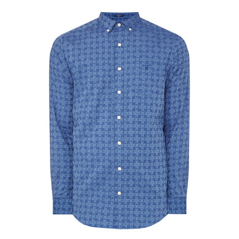 Star Jacquard Shirt , ${color}