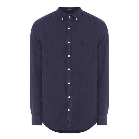 Garment Dye Linen Shirt , ${color}