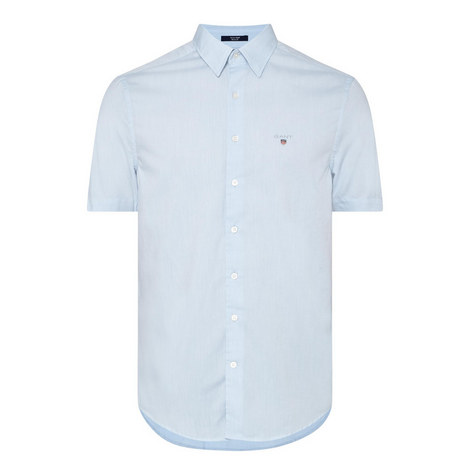 Short Sleeve Oxford Shirt, ${color}