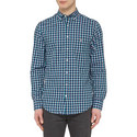Mix Weave Gingham Shirt, ${color}