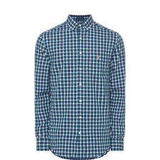 Mix Weave Gingham Shirt