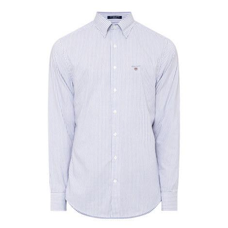 Stripe Slim Fit Oxford Shirt, ${color}