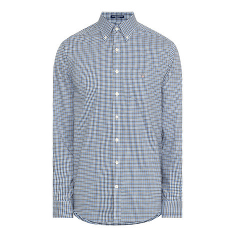 Micro Gingham Shirt, ${color}