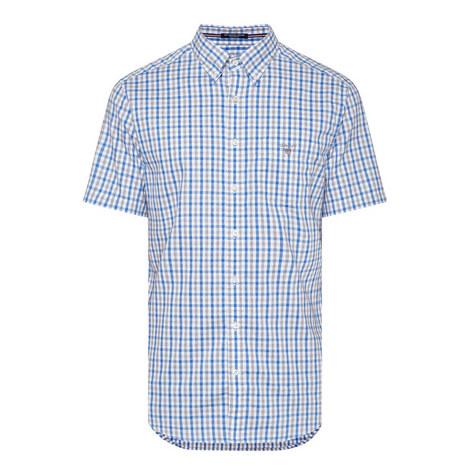 Check Short Sleeve Shirt, ${color}