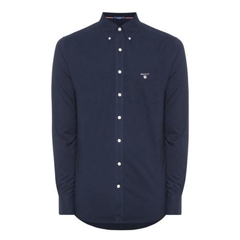 Button-Down Poplin Shirt, ${color}