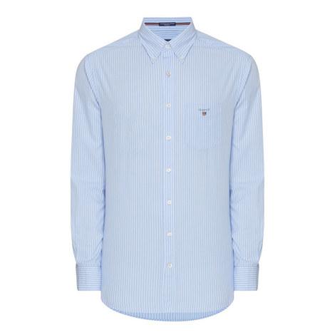 Broadcloth Pinstripe Shirt, ${color}