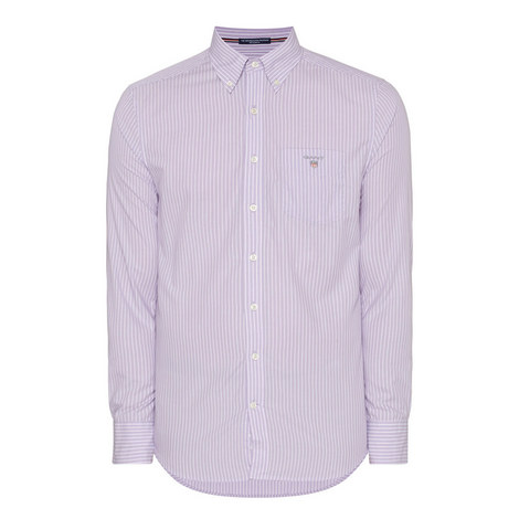 Broadcloth Pinstripe Shirt, ${color}