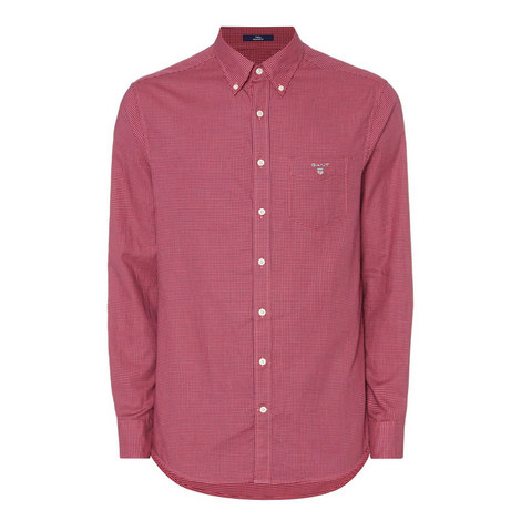 Micro-Check Shirt, ${color}