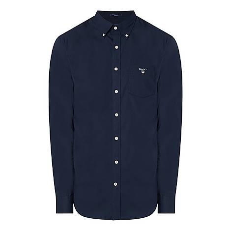 Plain Broadcloth Shirt, ${color}